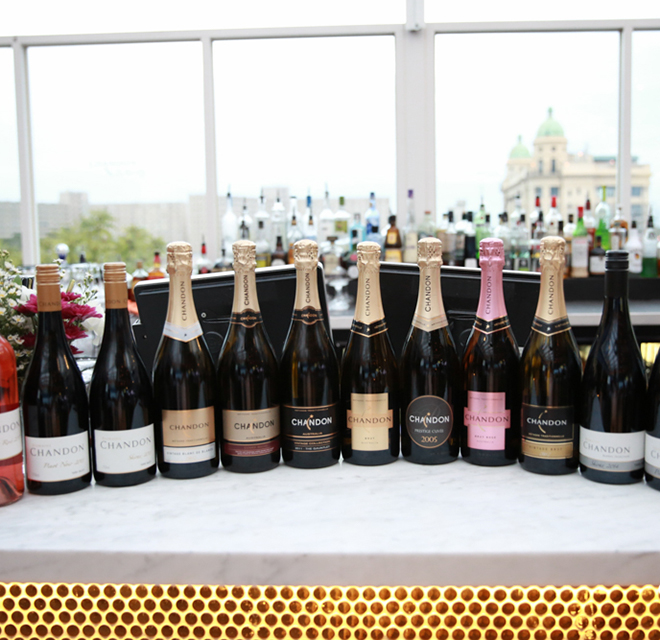 Chandon pop-up on The Emerson Rooftop