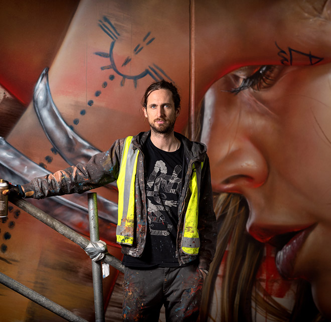 The Adnate' to open in Perth with one of the world's tallest murals