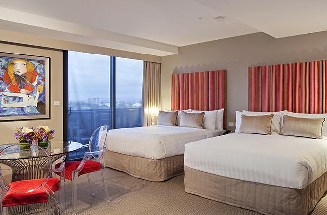 Boutique Hotels Melbourne Cbd Deluxe Suite The Blackman