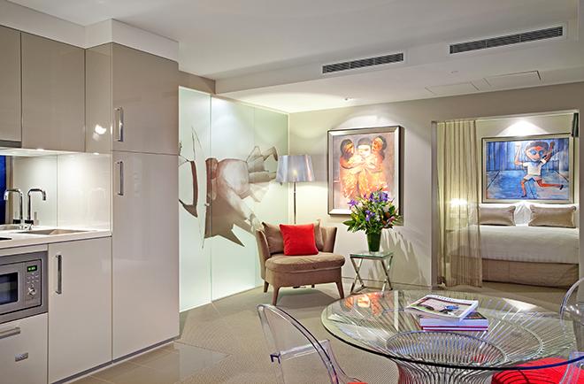 Melbourne Luxury Accommodation Jr Suite The Blackman