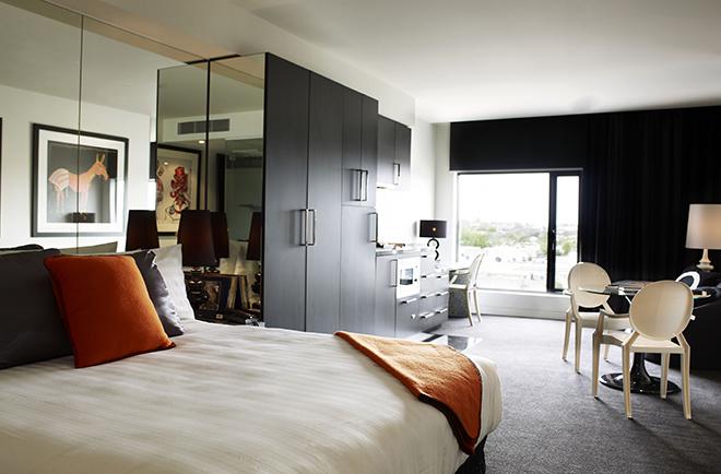 Hotels In Prahran Deluxe Studio Suite The Cullen Hotel