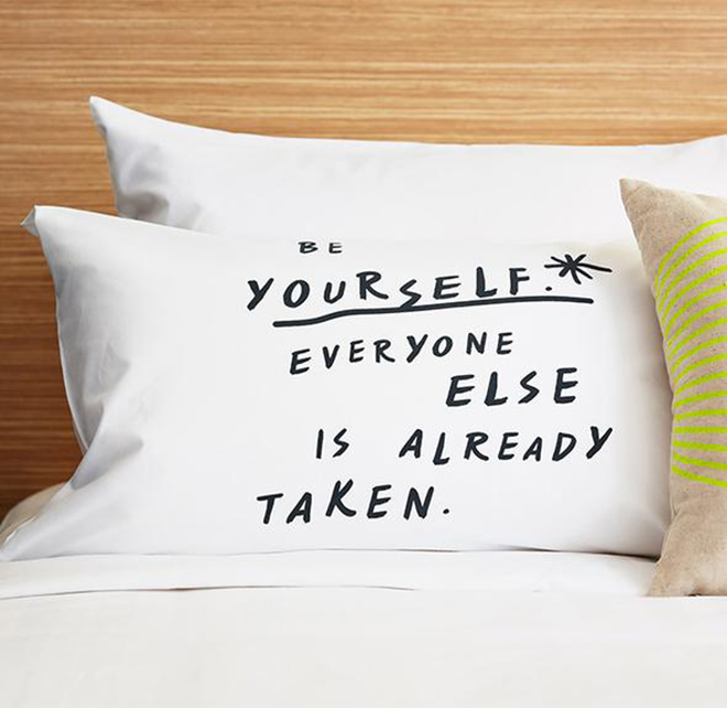 Pillow case quotes